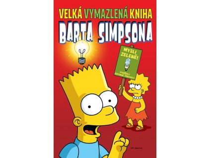 Simpsonovi - Velká vymazlená kniha Barta Simpsona