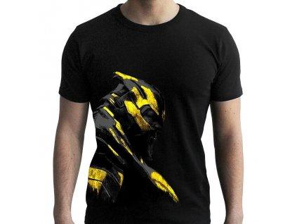 Tričko MARVEL Thanos ve zlaté