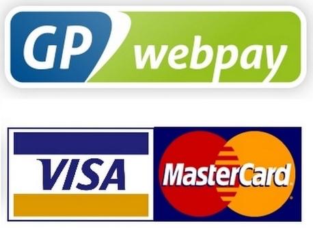 Online platba kartou - GP WEBPAY