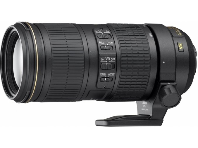 Nikon 70-200mm f/4G ED VR  + UV filter ZADARMO + VIP SERVIS 3 ROKY