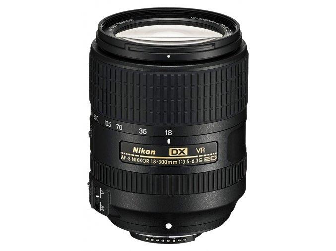 x Nikon AF S DX Nikkor 18 300mm F35 63G ED VR Black FT