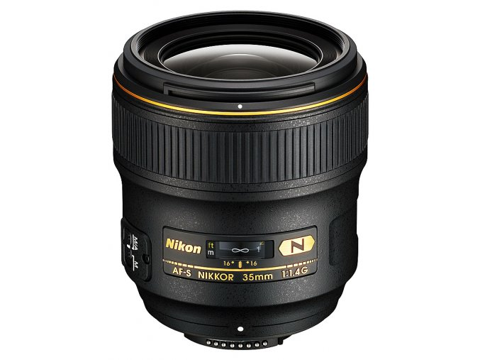 x Nikon AF S Nikkor 35mm F14G Black FT