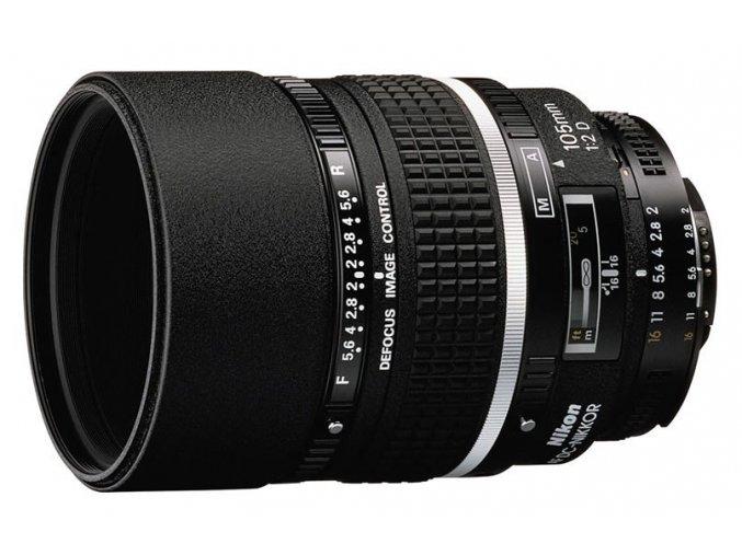 x Nikon AF Nikkor 105mm F2D DC A