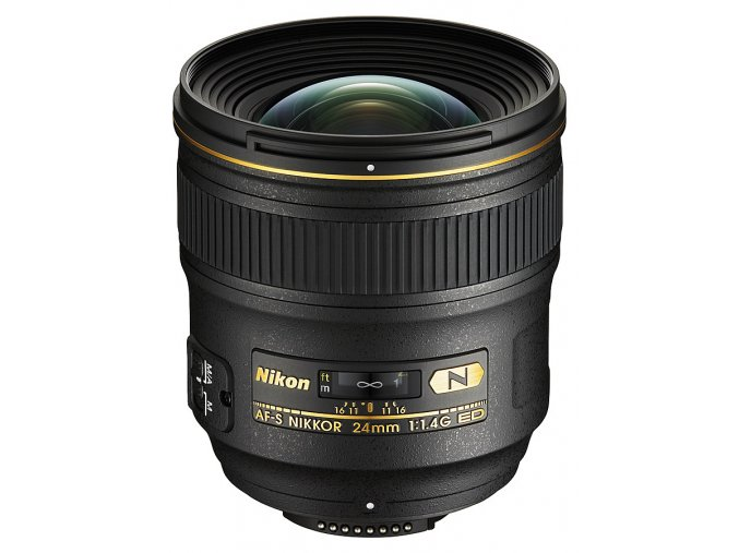 x Nikon AF S Nikkor 24mm F14G ED Black FT