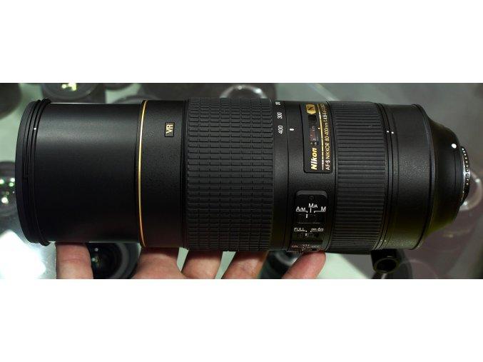 x Nikon AF S Nikkor 80 400mm F45 56G ED VR Black FT 01