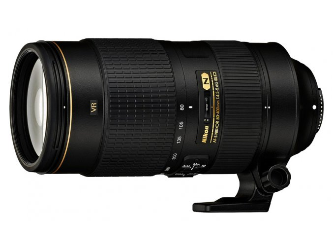 x Nikon AF S Nikkor 80 400mm F45 56G ED VR Black FT 01