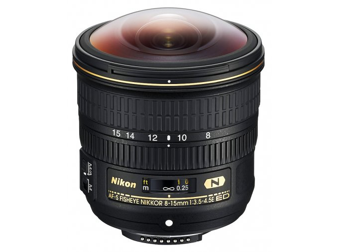 x Nikon AF S Fisheye Nikkor 8 15mm F3 5 4 5E ED Black FT
