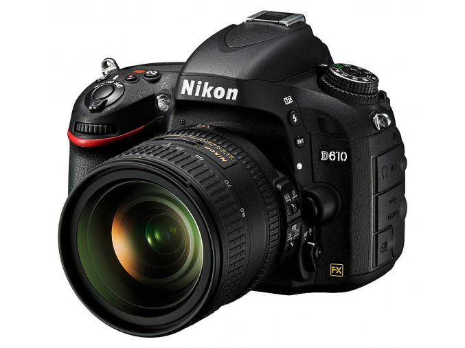 Nikon D610 AF-S 24-85mm F3.5-4.5G ED VR  + VIP SERVIS 3 ROKY + 64GB SD karta zadarmo + puzdro zadarmo