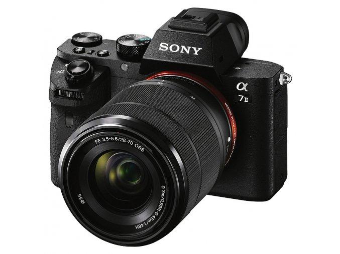 x Sony Alpha A7 Mk.II + FE 28 70mm F3.5 5.6 OSS Black FTL