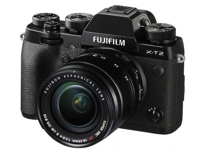 x Fujifilm X T2 + Finepix 18 55mm F2.8 4R LM OIS Black FTL