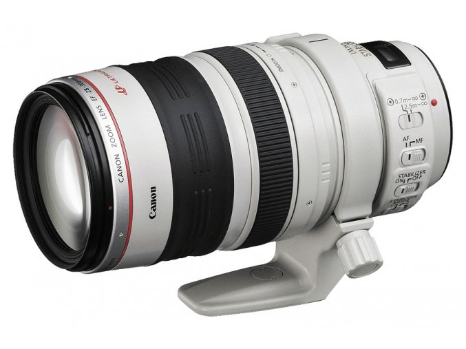 x Canon EF 28 300mm F3.5 5.6L IS USM White FTL