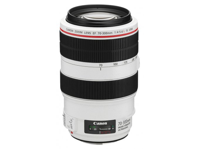 x Canon EF 70 300mm F4 5.6L IS USM White FT