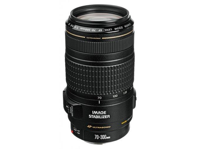 x Canon EF 70 300mm F4 5.6 IS USM Black FT