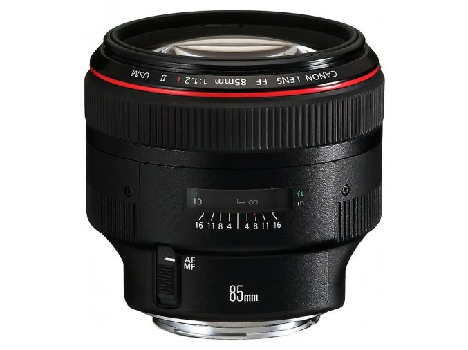 x Canon EF 85mm F1.2L II USM Black FT