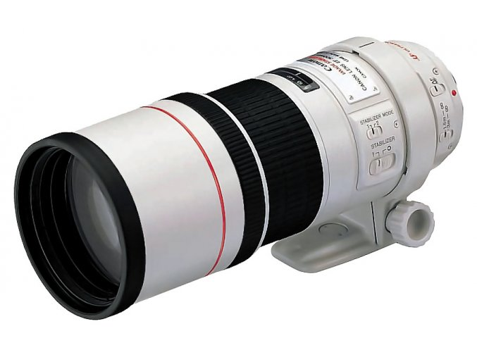 x Canon EF 300mm F4L IS USM White FTL