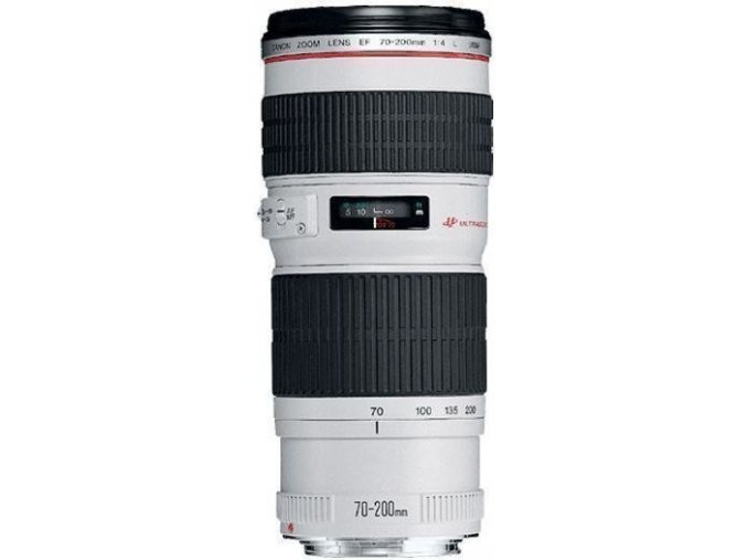 x Canon EF 70 200mm F4L IS USM White FTL