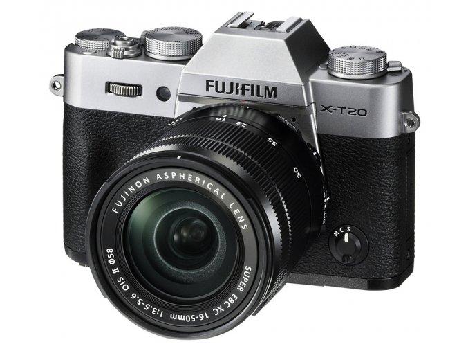 x Fujifilm X T20 + XC 16 50mm F3.5 5.6 OIS II Silver FTL