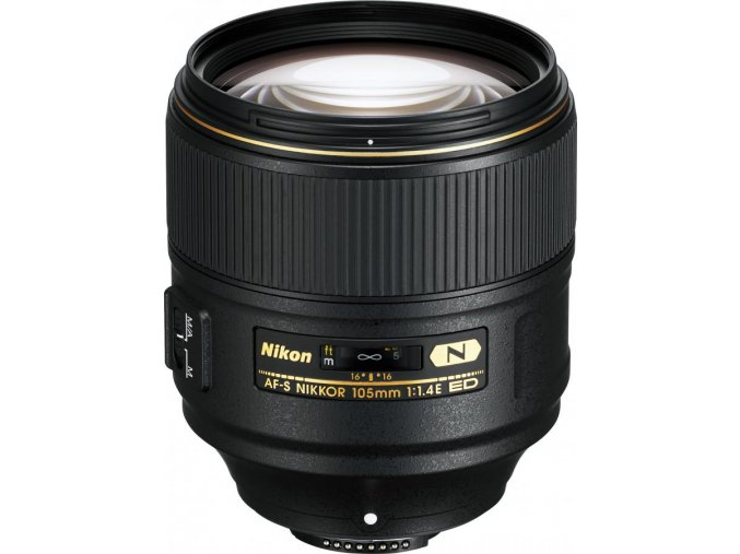 x Nikon AF S Nikkor 105mm F1.4E ED Black FT
