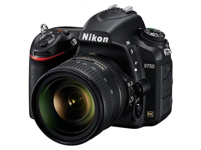 x Nikon D750 + AF S Nikkor 24 85mm F35 45G ED VR Black FTL