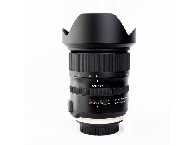 x Tamron SP 24 70mm F2.8 Di VC USD G2 Baj. Canon