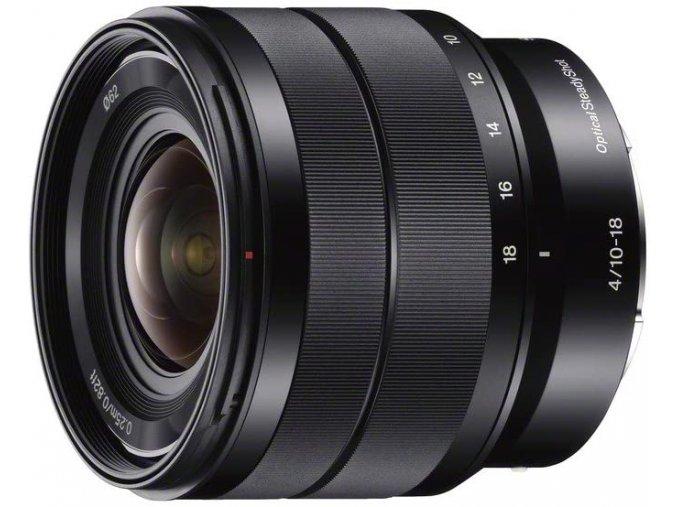 Sony E 10-18mm f/4  + VIP SERVIS 3 ROKY + UV filter zadarmo