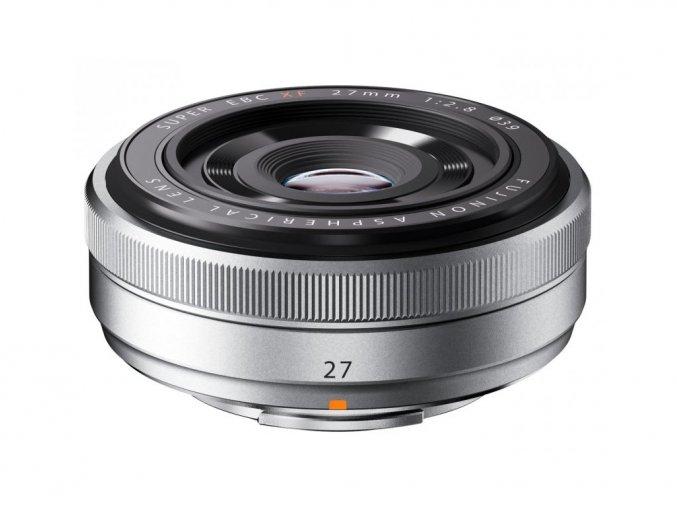 Fujifilm XF 27mm f/2,8 strieborný  + VIP SERVIS 3 ROKY