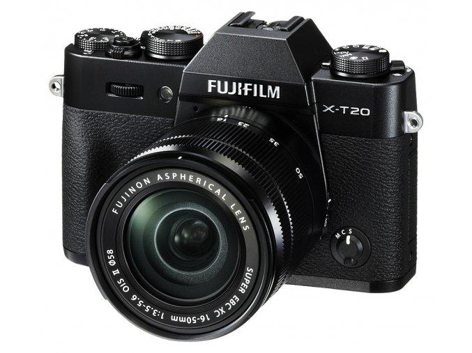 x Fujifilm X T20 + XC 16 50mm F3.5 5.6 OIS II Black FTL