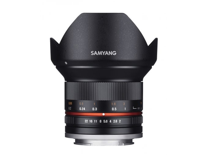 x Samyang 12mm F20 NCS CS Black F