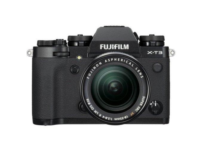 fujifilm x t3 black 18 55