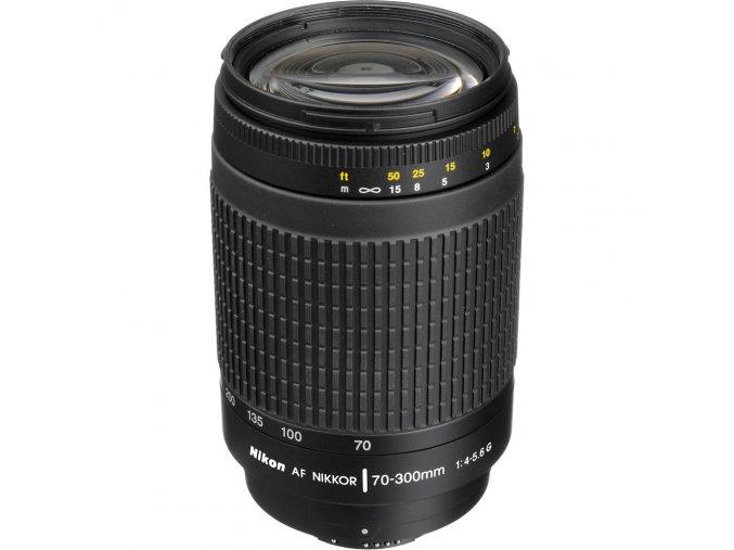 Nikon AF 70-300mm f/4-5.6G  + VIP SERVIS 3 ROKY + UV filter zadarmo + 3% zľava na ďalší nákup