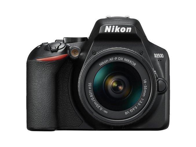 Nikon D3500 + objektív AF-P 18-140mm f/3.5-5.6 G VR  + VIP SERVIS 3 ROKY