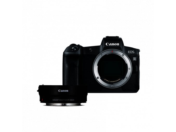 Canon EOS R telo + EF EOS R adaptér