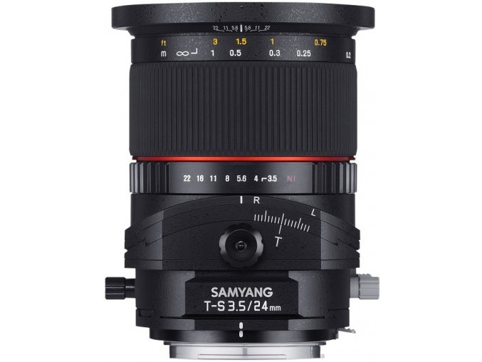 Samyang 24mm f3,5 Tilt Shift ED AS UMC Canon