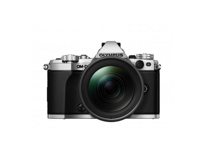 Olympus OM D E M5 Mark II strieborný + 12 40mm F2.8 Pro
