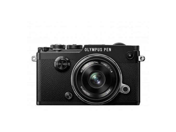 Olympus PEN F + 17mm f1.8 čierny