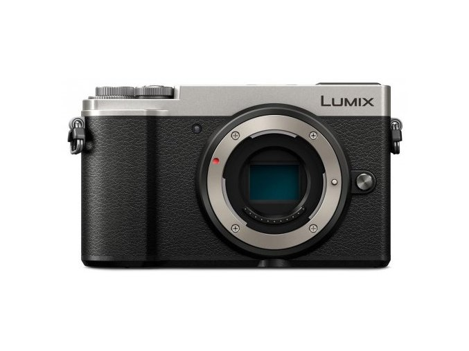 Panasonic Lumix DMC GX9 strieborná