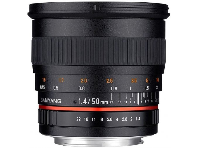 Samyang 50mm f1,4 AS UMC EOS Canon