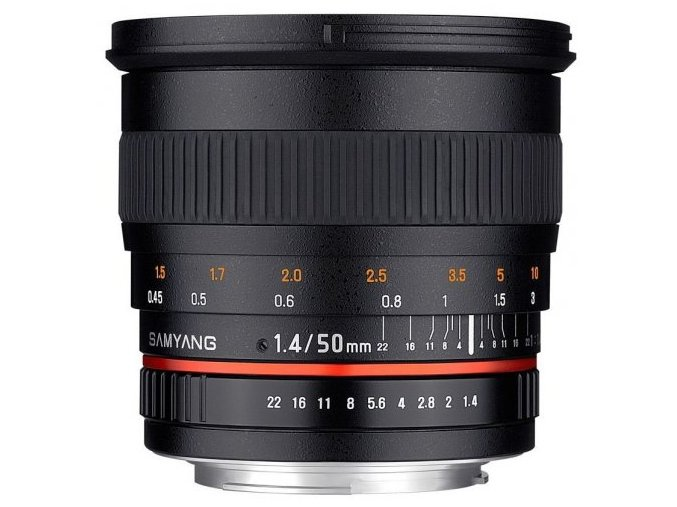 Samyang 50mm f1.4 AS sony