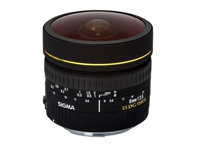 Sigma 8mm f3,5 EX DG FishEye Nikon