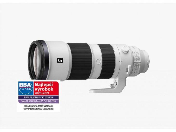 Sony FE 200 600mm f5.6 6.3 G