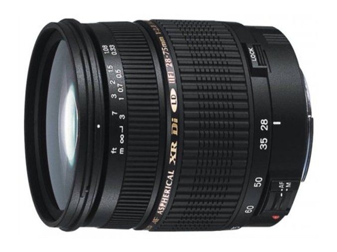 Tamron AF SP 28 75mm f2,8 Di XR LD Macro Canon