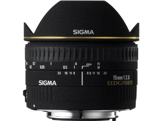 Sigma 15mm f2,8 DG FishEye DIAGONAL Nikon