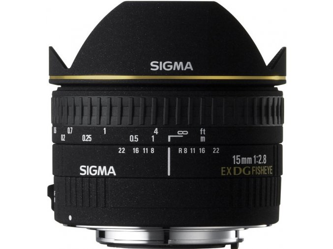 Sigma 15mm f2,8 DG FishEye DIAGONAL Canon