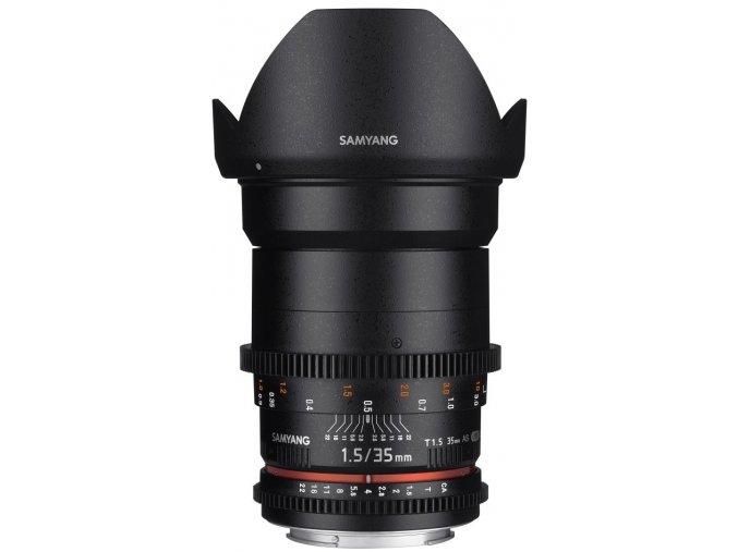Samyang 35mm T1.5 VDSLR II pre Nikon pre Canon