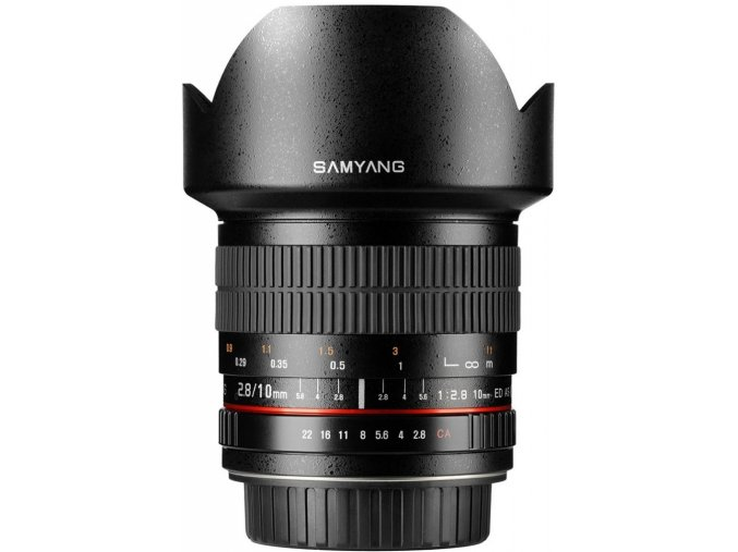 Samyang 10mm f2,8 ED AS NCS CS Fujifilm X