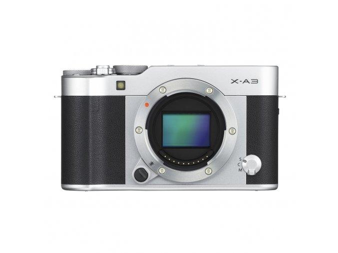Fujifilm X A3 + XC16 50mm II strieborný