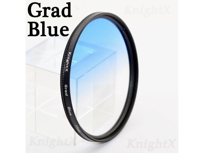 Grad blue
