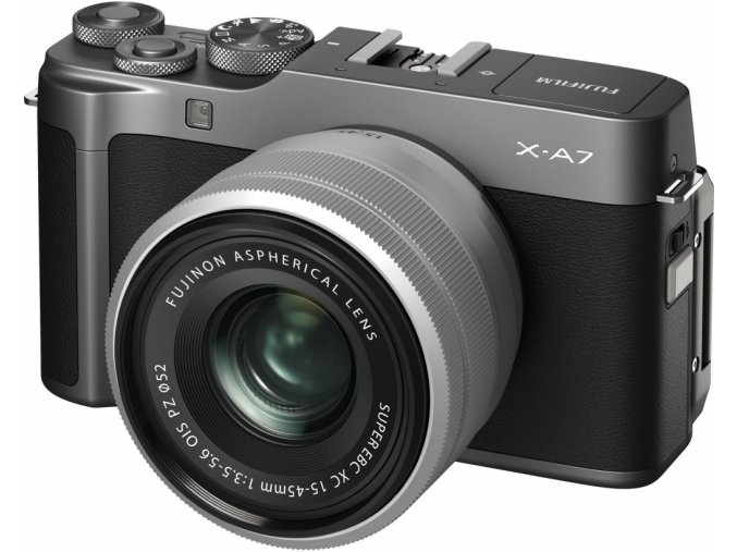 FUJIFILM X A7 + 15 45 mm čierny