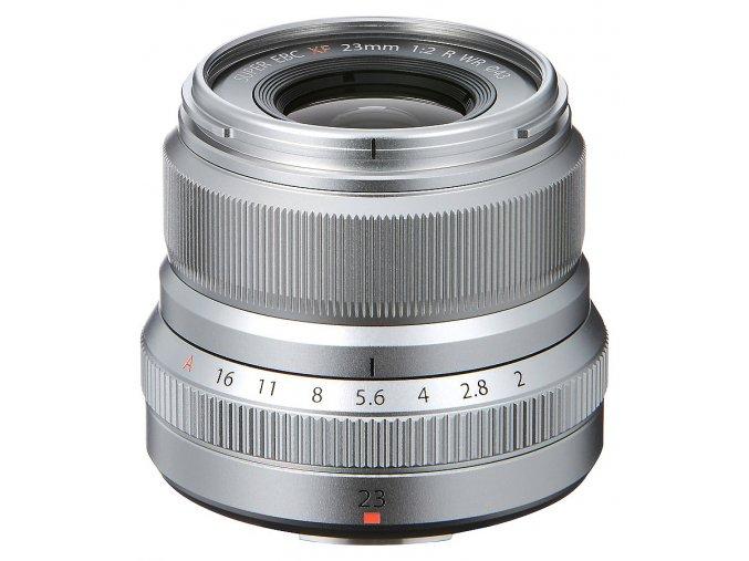 Fujifilm Fujinon XF 23mm F2.0 R WR strieborný