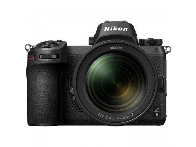 Nikon Z6 Mirrorless Digital Camera with 24 70mm